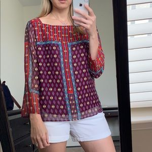 Nanette Lepore Multi Color Top